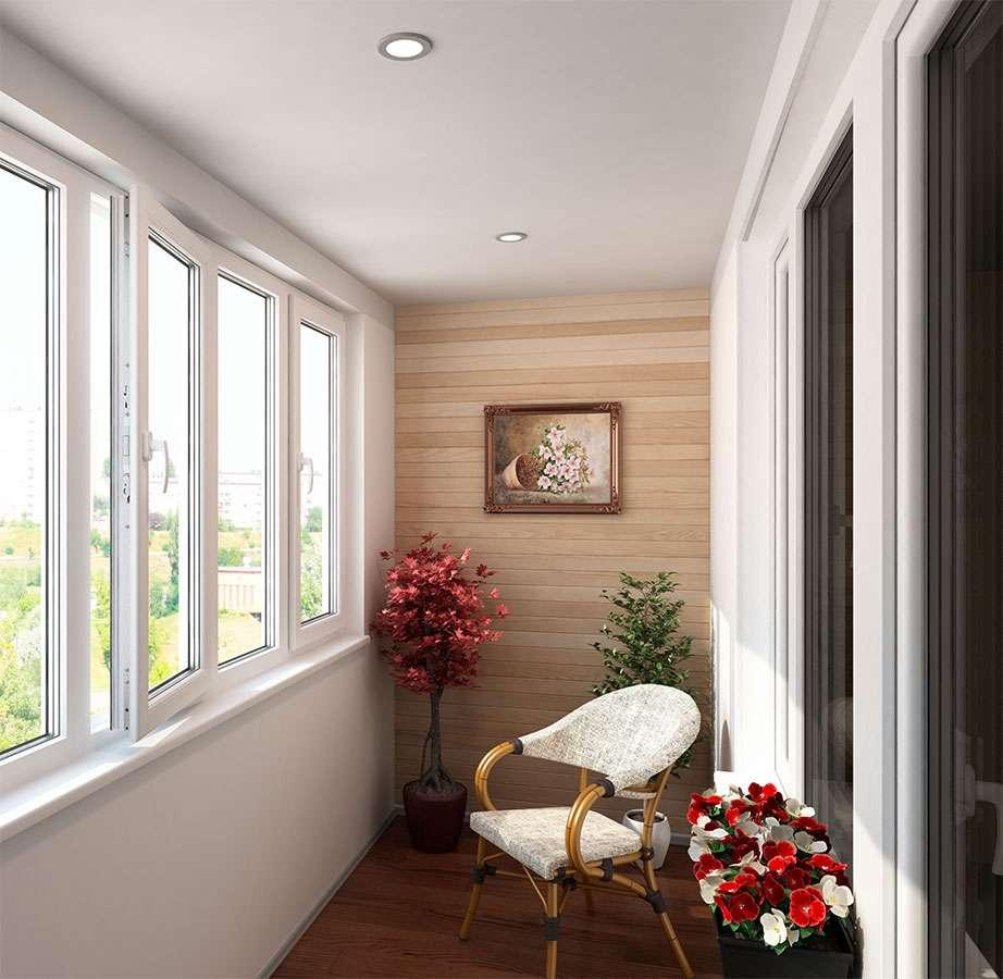 Ремонт и остекление балкона фото