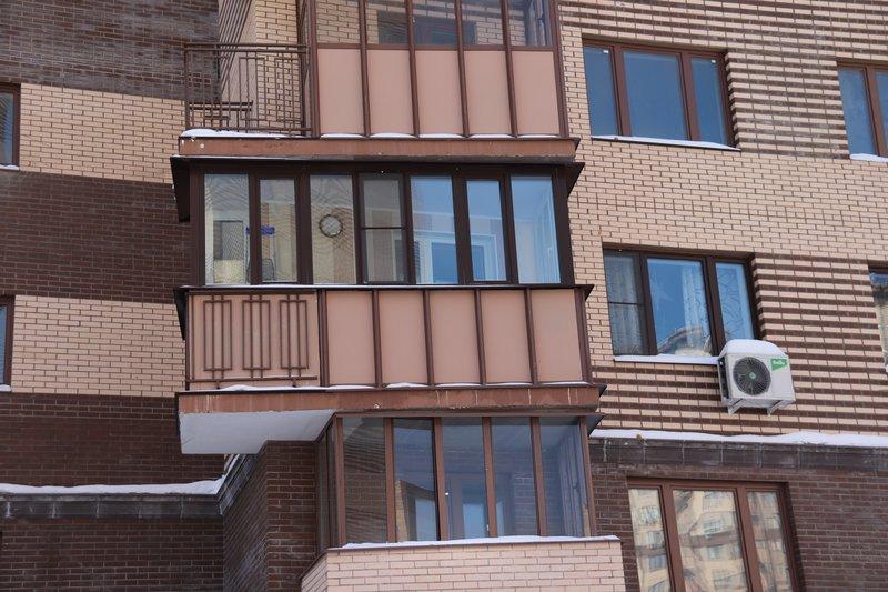Остекление балконов в подольске проект сервис как стеклить балкон стеклопакетами